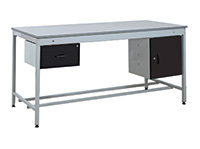 Taurus Utility Workbenches - Bench  Single Drawer and Cupboard - 1500 x 900