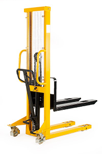 Hydraulic Stackers - Fork Type - Fixed - 1000kg Capacity - 1600mm Lift Height