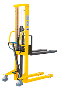 Hydraulic Stackers - Fork Type - Fixed - 1500kg Capacity - 1600mm Lift Height