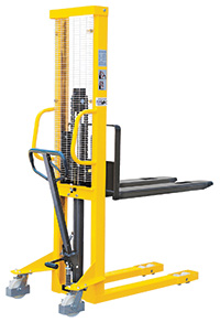 Hydraulic Stackers - Fork Type - Fixed - 500kg Capacity - 1600mm Lift Height