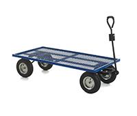 Industrial General Purpose Truck MESH BASE - 1500x750x360 - Puncture Proof Wheels