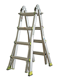 Telescopic Ladder System  no of Rungs  4 x 4 Steps