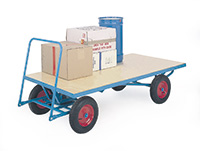 T/Table Truck - Plywood - 1000Kg - 2000 X 1000 - Pneumatic