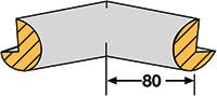 Foam Edge Protector - Trapeze  Internal Corners