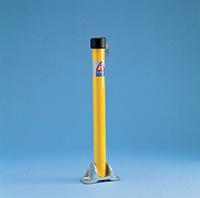 Yellow Powder Coated Post