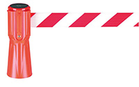 Tensacone Barrier - Red   White