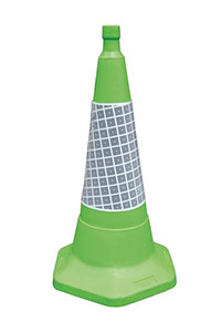 750mm Green Sand Weighted Traffic Cone