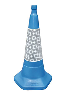 750mm Blue Sand Weighted Traffic Cone