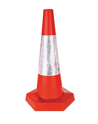 450mm Sand Weighted Traffic Cone