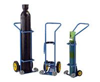 Oxygen Cylinder Trolley - 230Mm