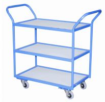 Tray Trolley - 2 Trays  MFC Shelves