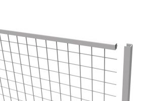 U-Capping to suit Anti-Collapse Mesh Panels