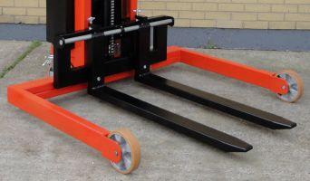 Optional straddle legs for VVE