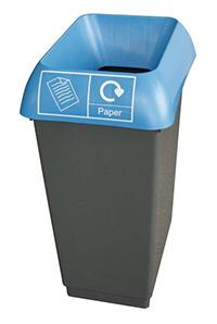 50 Litre Recycling Bin - Blue  Paper Waste