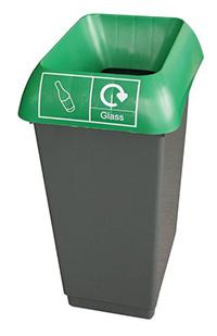 50 Litre Recycling Bin - Green  Glass Waste