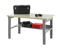 Adjustable Height Work Bench - 1520Mm