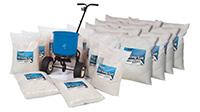Salt Spreader Kit - 20 x 25kg bags of salt and 1 x 18kg Salt Spreader
