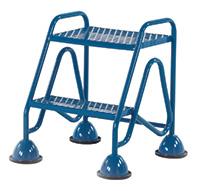 Fort Mobile Domed Feet Steps 2 Step - Mesh Treads - No Handrail