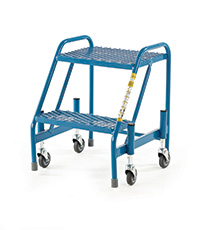 Fort Mobile Steps - Mesh Treads - 2 Step Without Handrail