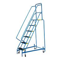 Fort Mobile Steps - Anti-Slip Treads - 6 Step With Full Handrail