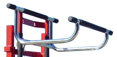 Optional cradle attachment for Manual Winch Lifter