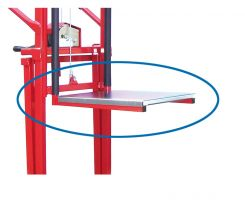 Optional platform for Manual Winch Lifter