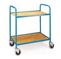 Tray Trolley 2 Trays  Plywood