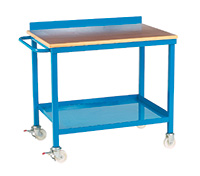 Mobile Work Bench - Plywood Top