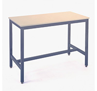 1500mm Laminate Top Medium Duty Steel Assembly Bench