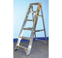 2.44m 10 Tread Professional Class 1 Step Ladder