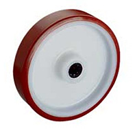 125mm Polyurethane Tyred / Nylon Centre Wheel