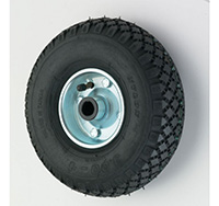 400mm Pneumatic Wheels with Roller Bearing