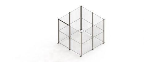 Mesh Security Cage - Medium