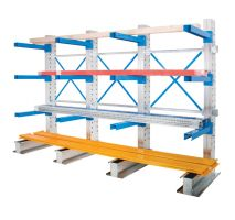 Single Sided Cantilever Racking 1000mm Wide Starter   1 x Ext Kit