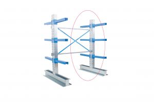 Double Sided Cantilever Racking 1000mm Wide - Ext. Kit