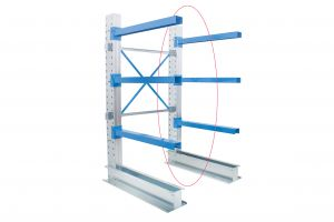 Single Sided Cantilever Racking 1000mm Wide - Ext. Kit