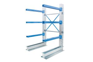 Single Sided Cantilever Racking 1000mm Wide Starter Bay