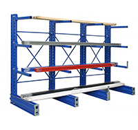 600mm Single Sided Cantilever Racking Extension Bay