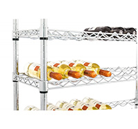 Chrome Wire Shelving wine shelf