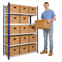 Clicka 265 c/w 15 Archive Boxes