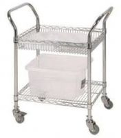 Chrome Wire Combo Trolley