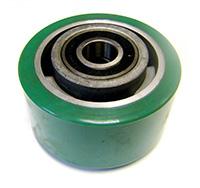 250mm Polyurethane Tyre / Aluminum Centre