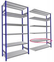 Expo 4 Additional Shelving only
