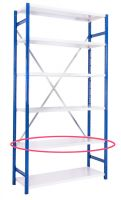 Expo 4 Additional Shelving only - White