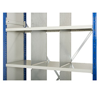 Expo 4 Shelving system Fixed Height Dividers  pack of 5