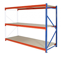 Thumbnail Longspan Shelving Extension Bay 3 Level