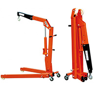 Warrior 2000Kg Folding Workshop Crane