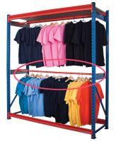 Garment Racking Extra Rail - Single