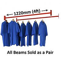 Garment Racking Extra Beams