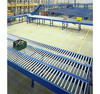 System 25 Gravity Roller Conveyor - 125mm Pitch